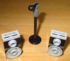 Lego City - Friends - Mikrofon mit Ständer und 2 Boxen