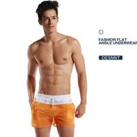 Men's Sports Training Gym Summer Shorts Beach Surf Fitness Workout short pants