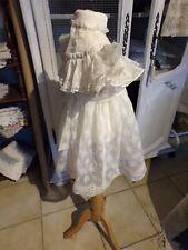 Robe Ancienne pour Petite Fille
