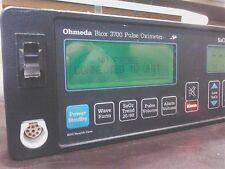 OHMEDIA BIOX 3700 PULSE OXIMETER POWERS NICE NEEDS PROBE