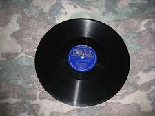 78 Decca 1483-Bing Crosby & Connie Boswell-Basin Street Blues/Bob White 1938