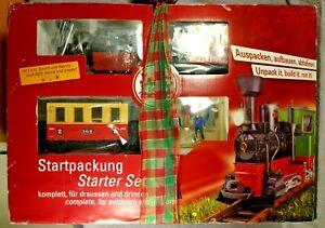 LGB 72302 G Scale Passenger Starter Set Train New Open Box Unused Mint
