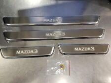 New Genuine OEM Mazda 3 2019 Illuminated Door Sill Trim Plates BDGH-V1-370