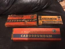 More details for carborundum sharpening stones