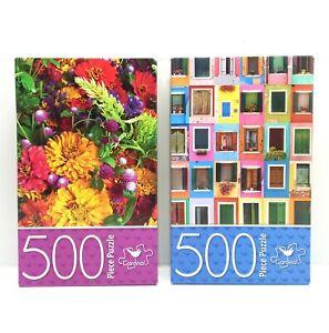 2 x Cardinal 500 Piece Jigsaw Puzzles NEW UNOPENED 27cm x 35cm