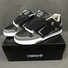 OSIRIS PXL Skateboarding Shoes Charcoal Grey Black 1331-1967 Men's Size 10