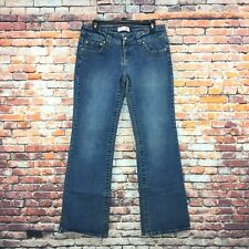 Duck Head Womens Size 9 Long Juniors Bootcut Dark Wash Denim Jeans