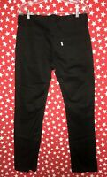 Levi Strauss & Co. Men's Original Riveted Black thin Jean pants Sz 33x32