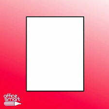 10 Sheets Full Sticker Matte White Blank Shipping Label 5265-Paper 8.5 x 11