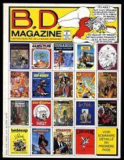 B.D MAGAZINE N° 1           1 JUIN 1985