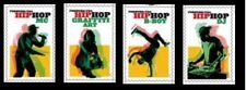 2020 US Stamp - HIP HOP - Set of 4 Single - SC# 5480 - 5483