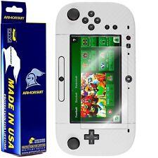ArmorSuit MilitaryShield Nintendo Wii U GamePad Screen Protector + White Carbon