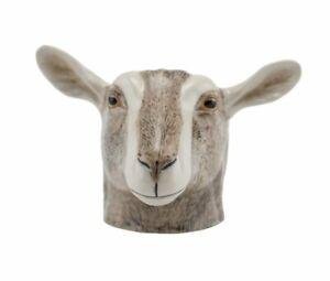 Quail Ceramics   Face Egg Cup  Goat