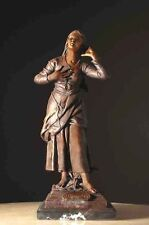 Joan of Arc Bronze Statue Catholic Saint