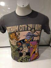 Batman Men's Gotham City Villains T-shirt Grey Small
