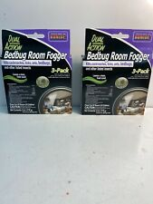 2 Bonide 571 2oz 3Pk Dual Action Bed Bug Fogger