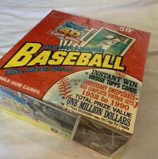 Chipper Jones 1991 Topps Basebell wax pack - Box Of 540 Cards