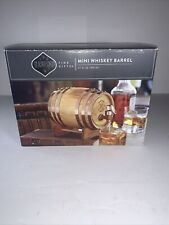 Mini Whiskey Barrel Keg Whisky Cask 27 fl oz Alcohol Dispenser Dashing Fine Gift