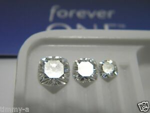 Forever One Moissanite Cushion 7mm 1.5 ct Loose Charles Colvard Colorless D E F