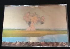 Antique Oklahoma Postcard  C1910 - Gusher Blowout Unmailed Color Reflection