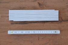 Werbegeschenk an Kunden 3m weiß ADGA Zollstock ohne Aufdruck 3 Meter Maßstab