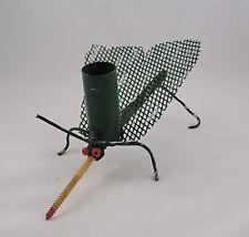 New Listing Metal Art Mosquito Pen Pencil Holder Home Decor Creature Handmade