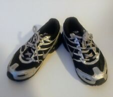 NIKE Kids Shoes Air Max Torch 4 Running Athletic Sneakers Black Silver Size 13.5