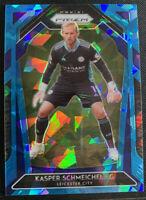 2020-21 Panini Prizm Premier League Kasper Schmeichel #121 Leicester City /75