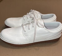 Nike Janoski G Sail Gum Leather Spikeless Golf Shoes Mens AT4967-101
