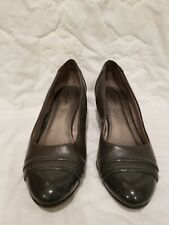 GRAY LIFE STRIDE WEDGE size 9 SHOES