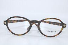 Versace VE3259 5276 TORTOISE EYEGLASSES  New Authentic 52
