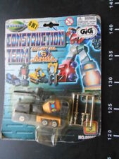 ROBOT Hasbro TRANSFORMERS 6 in 1 Autobot CONSTRUCTION TEAM GIG rare