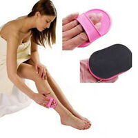 Exfoliating Hair Removal Pad Arm Face Legs Top Lip Skin Epilator Hair Remover