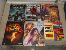 Spyro (Prima Guide) N64 CODE BOOK HALO WARS XBOX FINAL FANTASY RESIDENT EVIL LOT