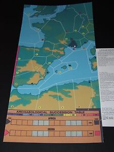 Avalon Hill Civilization Western Extension Map (WXM) Reproduction FREE SHIPPING