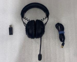 Logitech G PRO X Black Over-Ear Lightspeed Bluetooth Headset