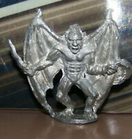 Rare Vintage Dungeons & Dragons Metal Miniature D&D 1976 Ral Partha Cool Balrog