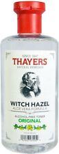 Original Witch Hazel with Aloe Vera Alcohol-Free Toner, Thayers, 12 oz