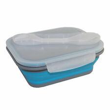 Summit Camping/Outdoor Eating- MyBento Folding Lunch Box/Cutlery - Choose Colour