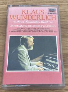 Klaus Wunderlich In A Romantic Mood Cassette Tape 28 Romantic Melodies