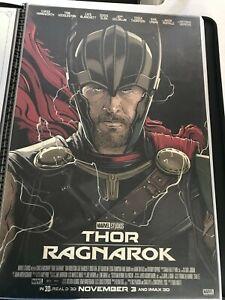 "Thor Ragnarok Giclee Movie Poster ""The Contender"" 24 x 36 AMP Cristiano Siqueira"