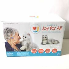 Joy For All Silver Cat With White Mitts Silver With White Mitts. W68