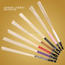 Long Deformable Rattan Whip Riding Crop Paddle Flogger Queen Roleplay Game Toy