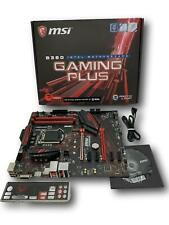 MSI B360 GAMING PLUS ATX Intel LGA1151 DDR4 Desktop Motherboard