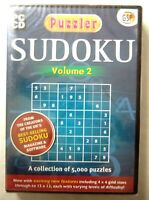 68640 - Puzzler Sudoku Volume 2 [NEW / SEALED] - PC (2006) Windows XP 1588A