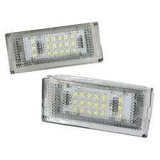2x 18 LED Number License Plate Light Lamp For BMW E46 4DR Sedan 325i 328i 9 J7K2