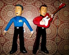2 x Wiggles Talking Singing Plush Dolls Murray and Anthony