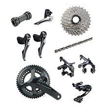 Shimano Ultegra R8000 2 x 11 Speed 50/34T 170mm 11-34T Bike Groupset Build Kit