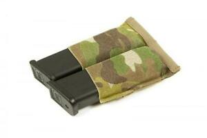 NEW Blue Force Gear Ten-Speed Double Pistol Elastic Magazine Pouch - Multiuse