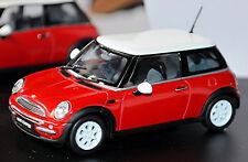 MINI COOPER R50 HATCHBACK 3 PUERTAS BMW GRUPO 2001-06 Rojo Solar Red 1:43 REVELL